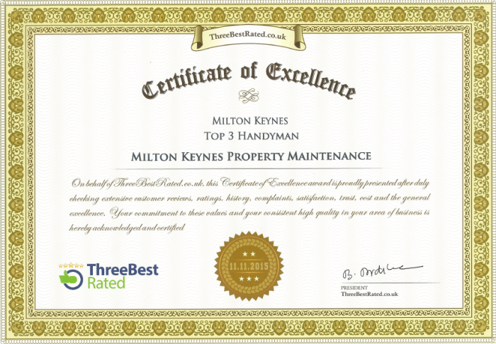 Milton Keynes Property Maintenance Contact Us